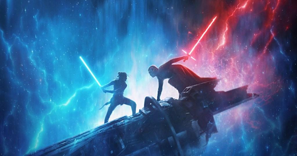 fight scene from Star Wars