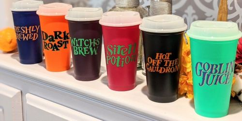 Starbucks Halloween Reusable Cups are Here & They Glow in the Dark!