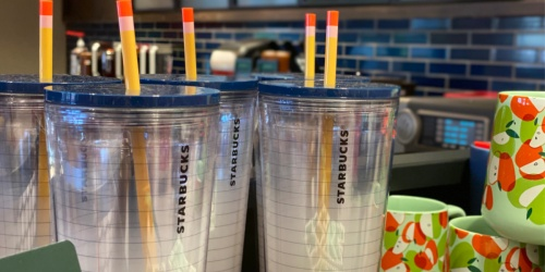Starbucks Notebook Tumbler w/ Pencil Straw is the Perfect Teacher Gift