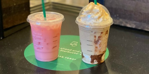 Buy One, Get One FREE Starbucks Drinks on July 16th