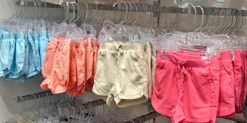 The Children's Place Shorts 2-Packs from $4.49 Shipped (Just $2.25 Each)