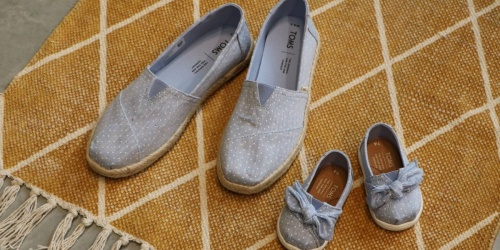 TOMS Shoes For The Family Starting at $16.99 on Zulily