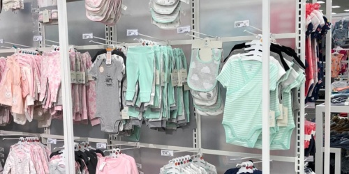 Carter's Baby Bodysuit 3-Packs from $7 at Target (Just $2.33 Each)
