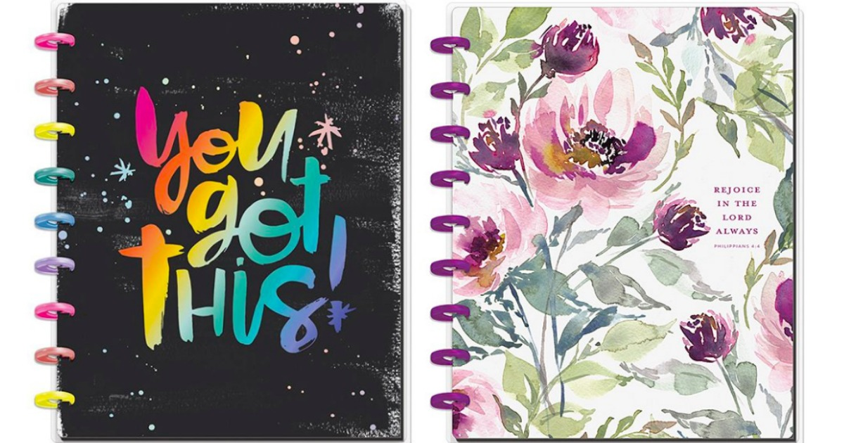 Various designs of The Happy Planners