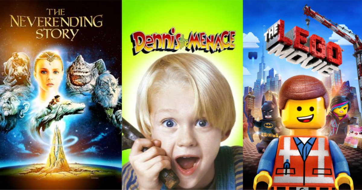 Family Movie Rentals From 99 On Fandangonow Lego Movies The Secret Garden More