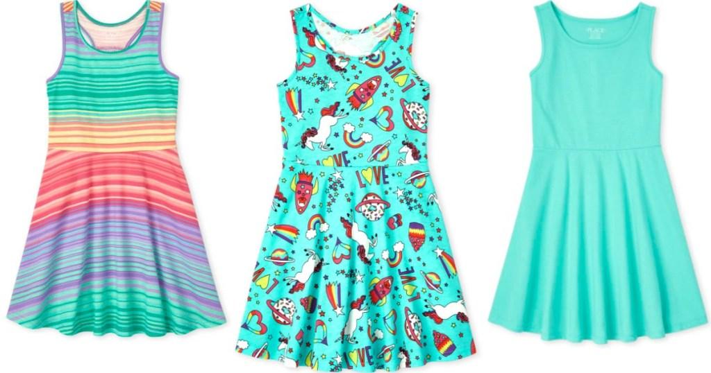 girls tank dresses