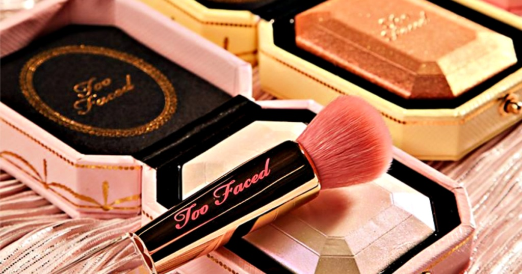 Too Faced Diamond highlighter and bronzers
