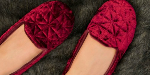 Totes Isotoner Slippers From $6.99 on Belk.com (Regularly $28)