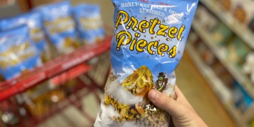 Trader Joe's Honey Mustard & Onion Seasoned Pretzel Pieces Only $2.99