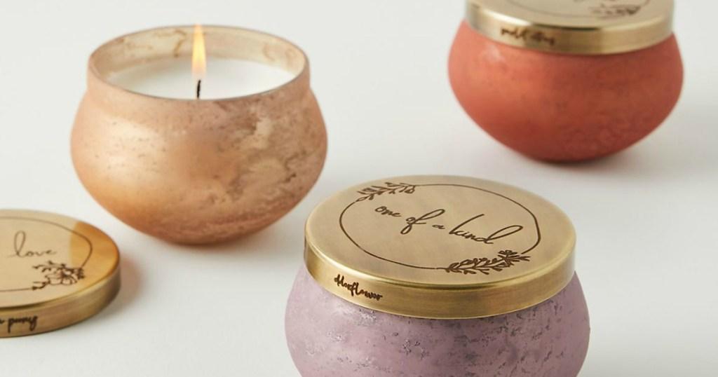 Treasure Glass Candles