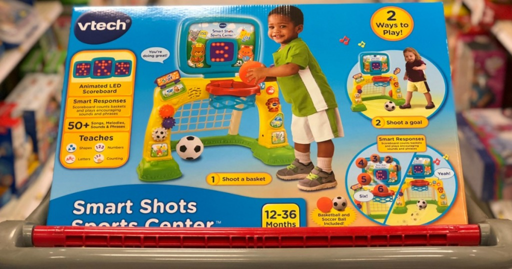 VTech Smart Shots toy box in Target cart