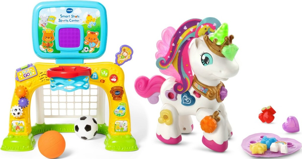 Vtech Smart Shots and Unicorn toys