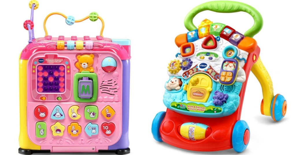 two VTech toys