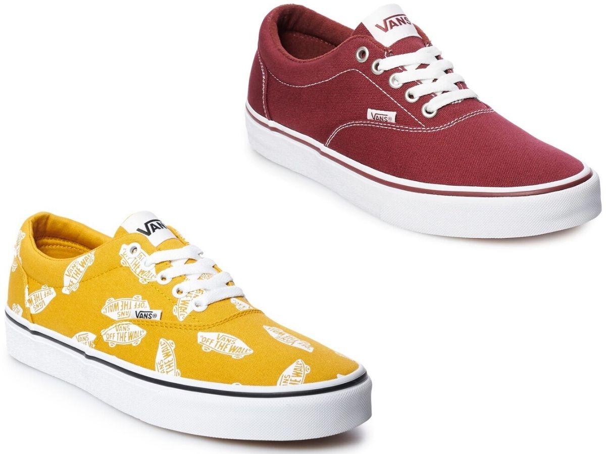 Vans Sneakers Only $18 on Kohl's