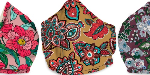 Vera Bradley Non-Medical Face Masks Just $8 Shipped | Choose from 5 New Patterns