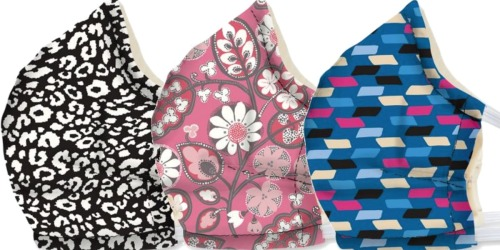 Vera Bradley Non-Medical Face Masks Only $8 Shipped