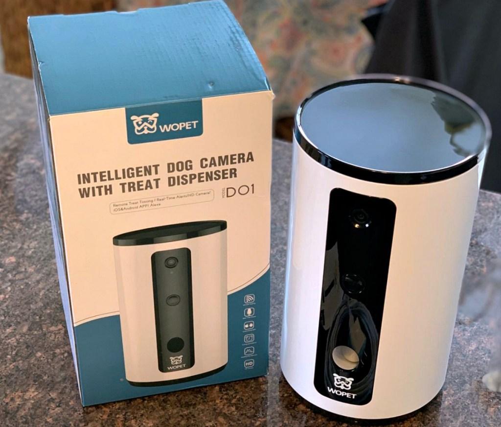 wopet smart dog camera