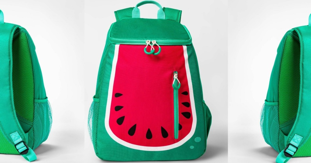 Watermelon Backpack front and back