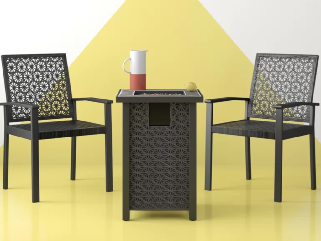 3-Piece Outdoor Patio Furniture Set