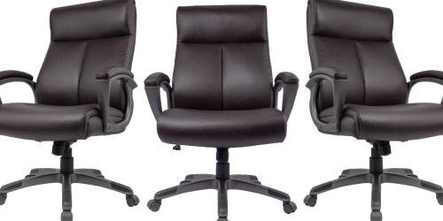 Staples Manager Office Chair Only $74.99 Shipped (Regularly $180)