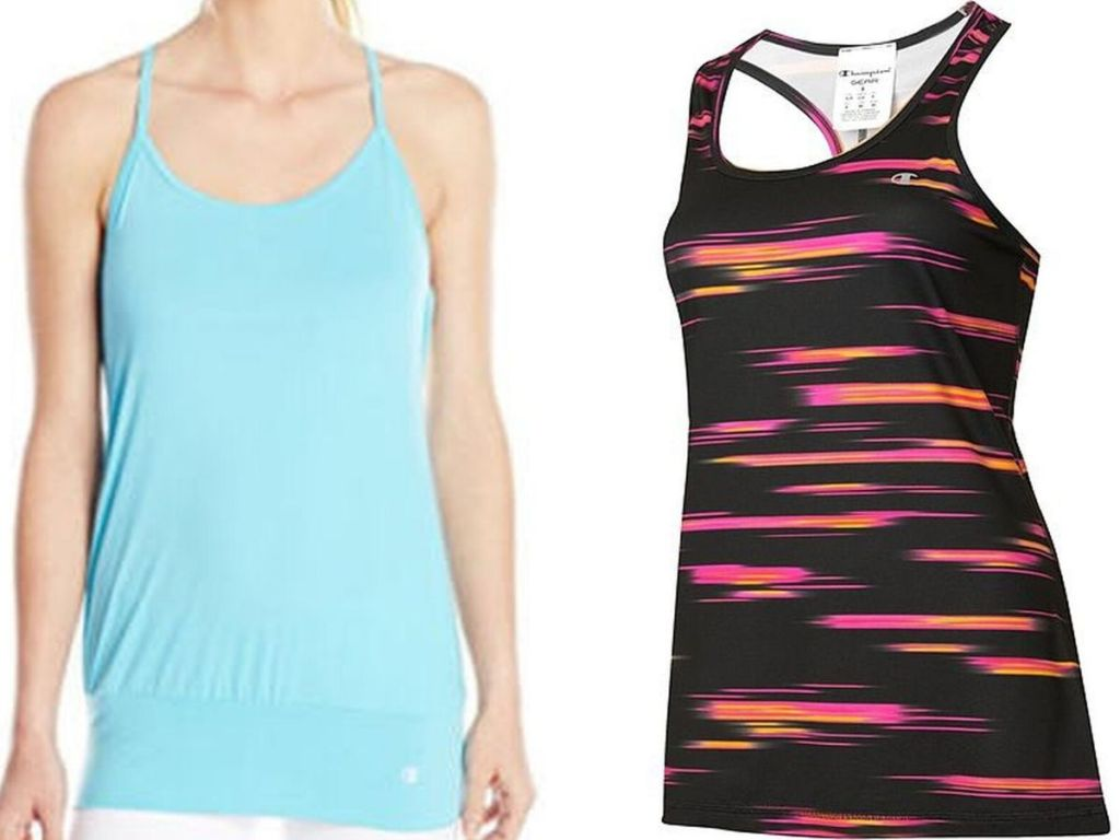 two womens tank tops
