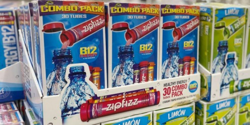 Zipfizz Energy Drink Mix 30-Pack Only $14.89 Shipped on Amazon | Just 50¢ Each