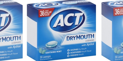 ACT Dry Mouth Lozenges 36-Count Just $3.61 Shipped on Amazon