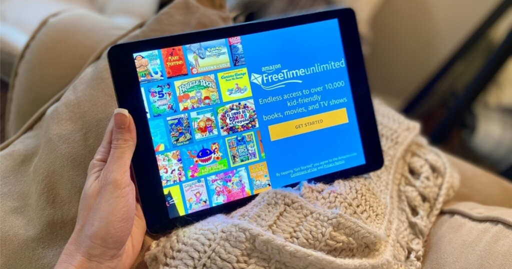 amazon freetime unlimited in parents ipad