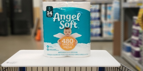 Angel Soft Bath Tissue in Stock Now + FREE Shipping