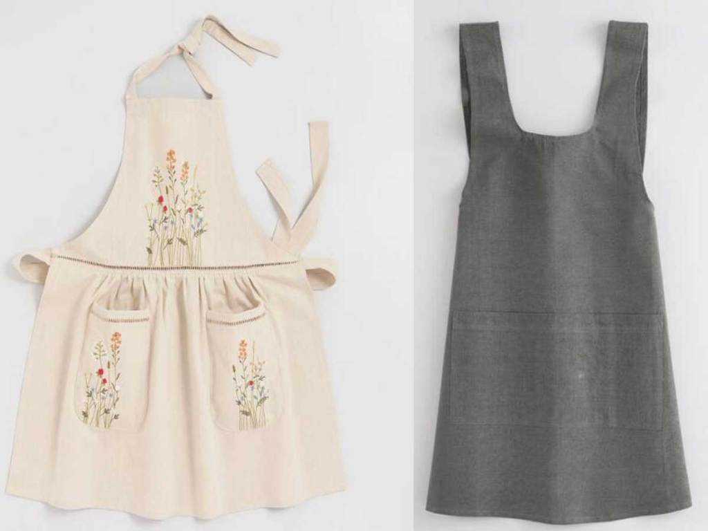 aprons and smocks stock images