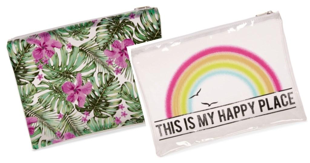arizona bikini bags floral and rainbow