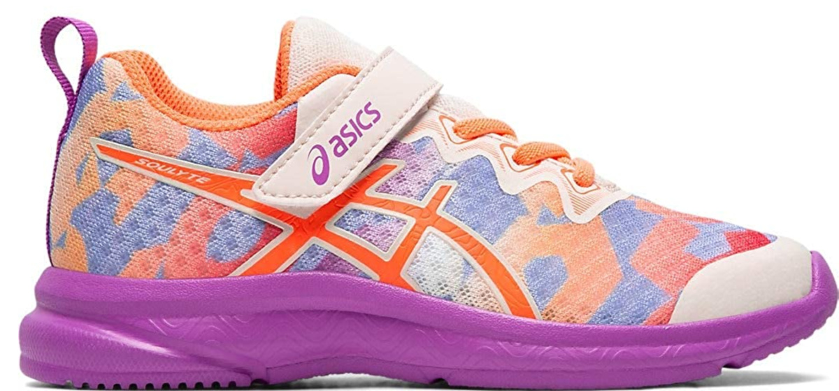 colorful asics kids shoes