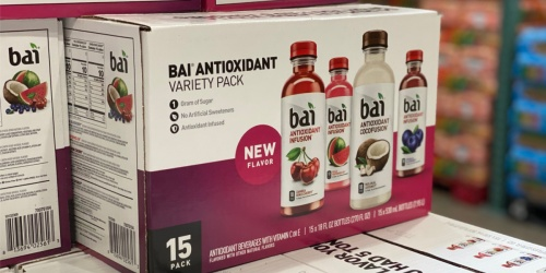 Bai 15-Count Variety Pack Only $14 at Costco (Just 93¢ Each)