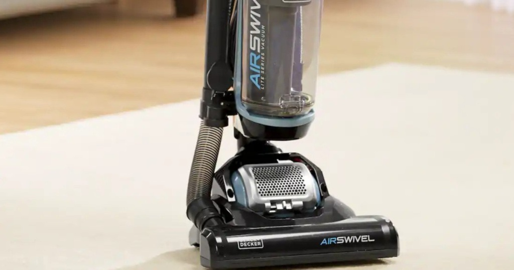 black and decker airswivel vacuum zoomed in