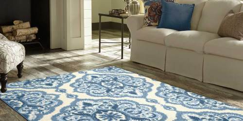 5×7 Area Rugs from $29.80 on Walmart.com