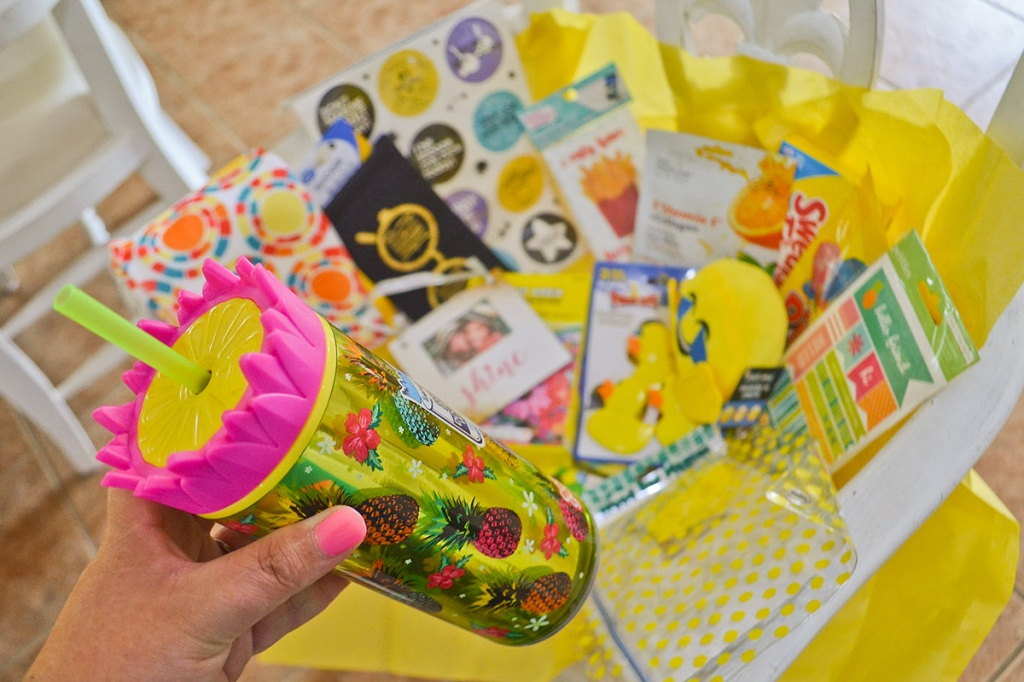 box of sunshine gift items