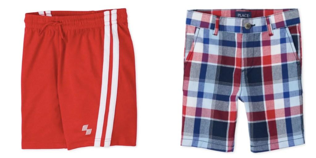 boys shorts the childrens place patriotic print
