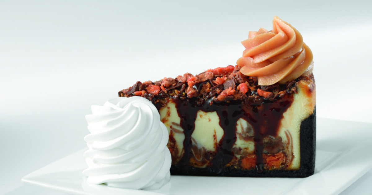 candy cheesecake