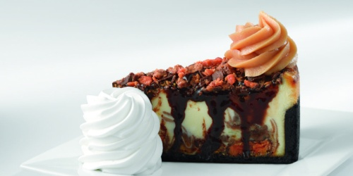 FREE Cheesecake Slice w/ $30 Online Order at The Cheesecake Factory