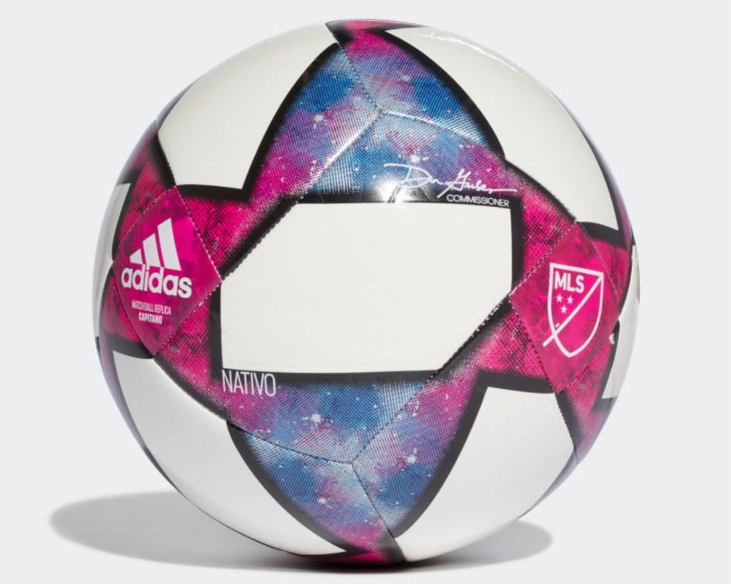 capitano mls ball pink