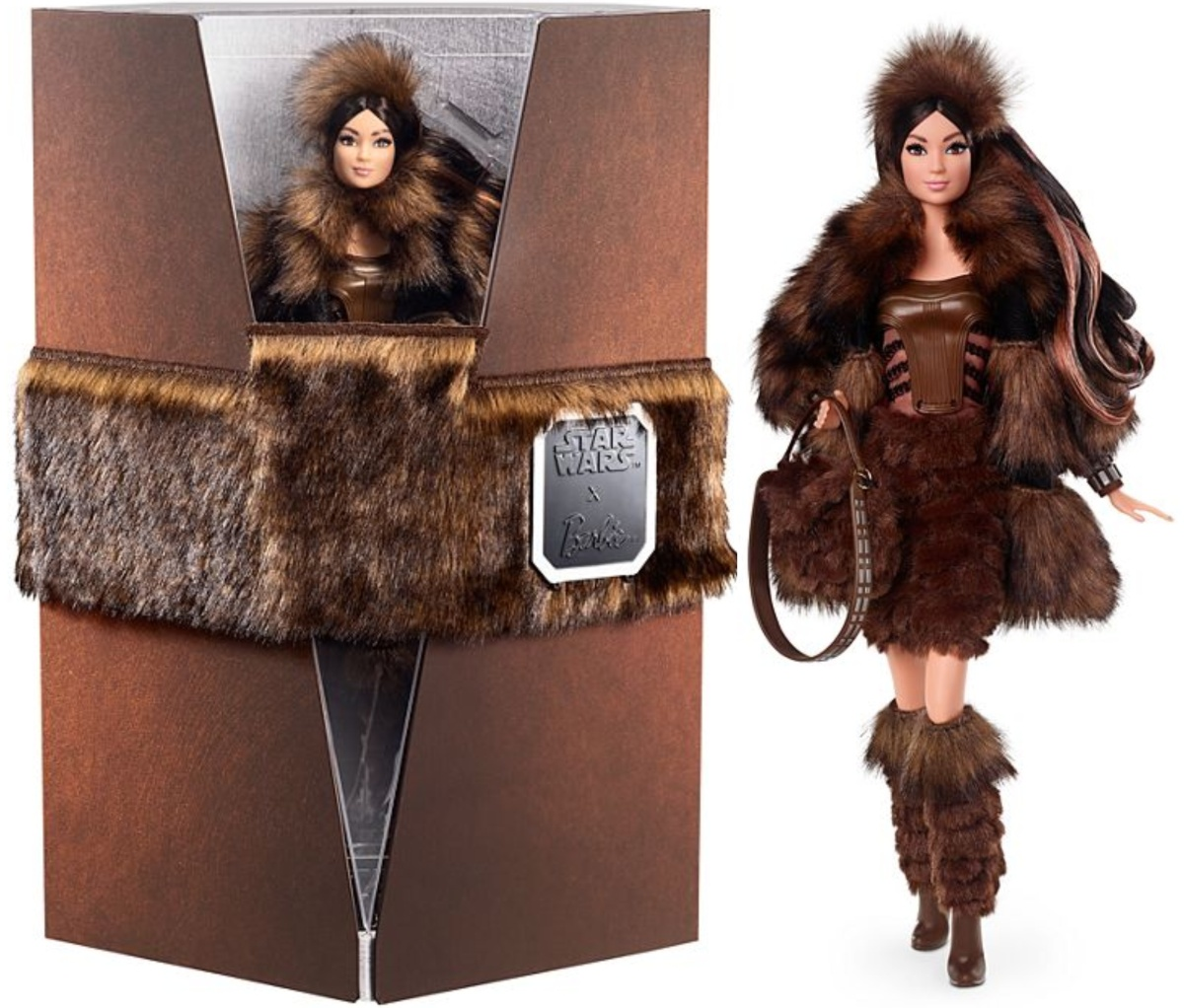 Chewbacca-inspired Barbie Doll