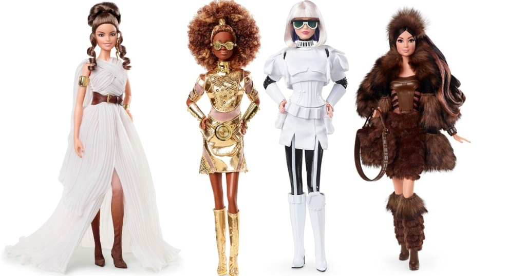 4 Star Wars-Inspired Barbie Dolls