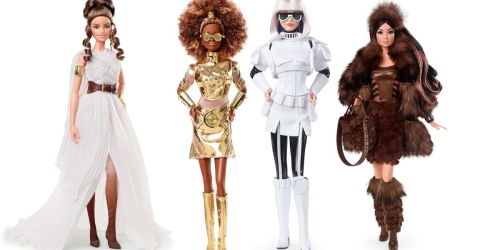 Star Wars-Inspired Barbie Dolls Available for Preorder Now (But They're Gonna Cost You!)