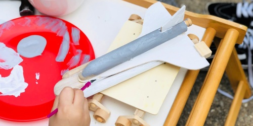 Get 50% Off a Young Woodworkers Craft Kit (My Kiddos Loved It!)