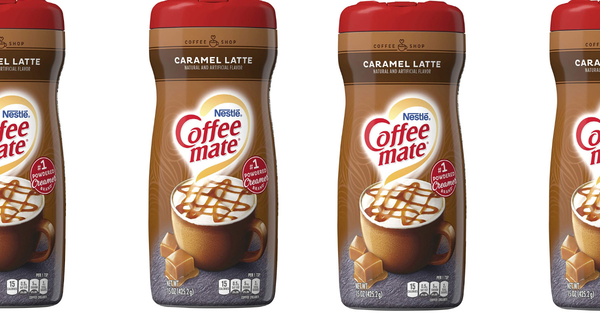 4 coffee-mate creamer bottles