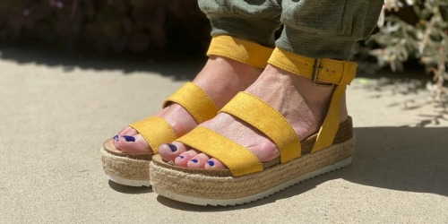 Don't Miss the Buy 1, Get 1 FREE Women's Sandals Sale on Target.com