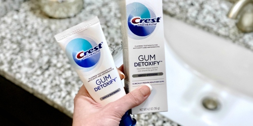 Save Big on Crest Gum Detoxify Toothpaste After Walgreens Rewards