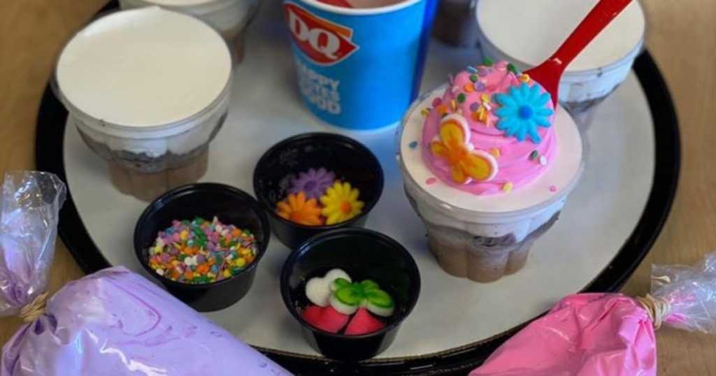 Dairy Queen cupcake kit
