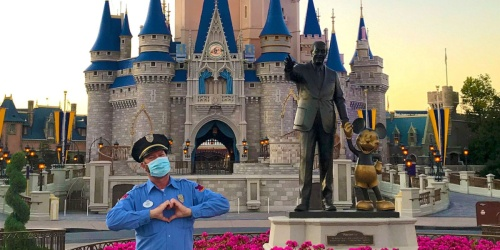 Walt Disney World Announces Plans to Reopen in July & Face Masks Will Be Required