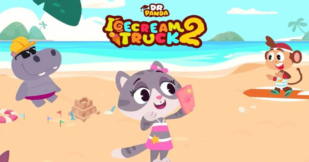 dr panda ice cream truck 2